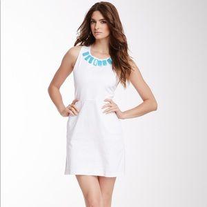 Tracy Negoshian Amy Bow Back Dress